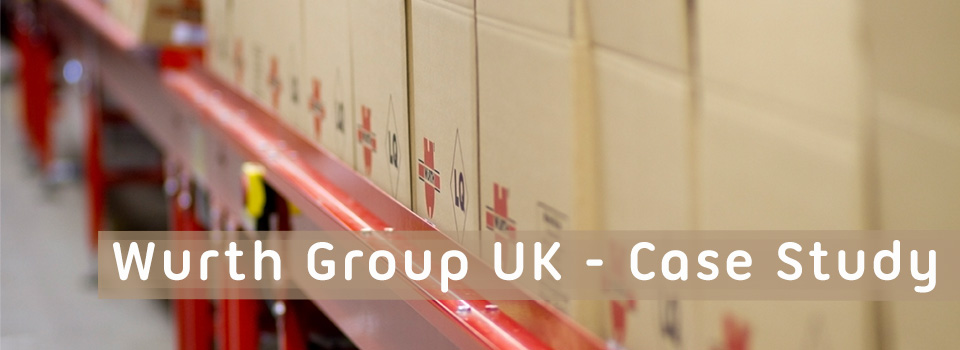 Storepak Corrugated case study for Wurth Group UK