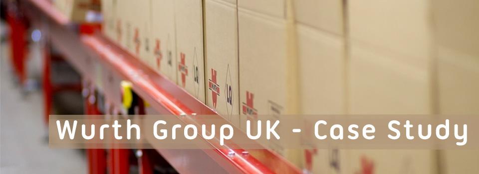 Storepak Corrugated case study for Wurth Group UK